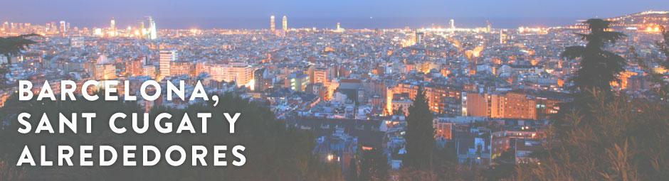 Imagen de Barcelona por la noche
