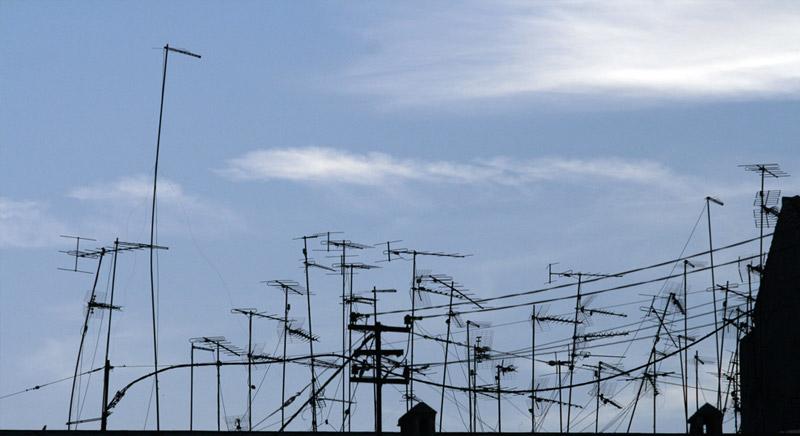 Antenas de televisión en Sant Cugat del Vallés
